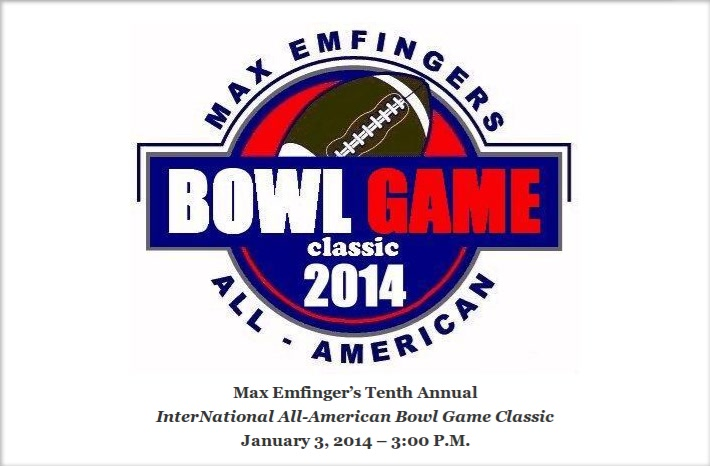 Joe Wilson to play in the Max Emfinger All-American Bowl Game in Panama City Florida